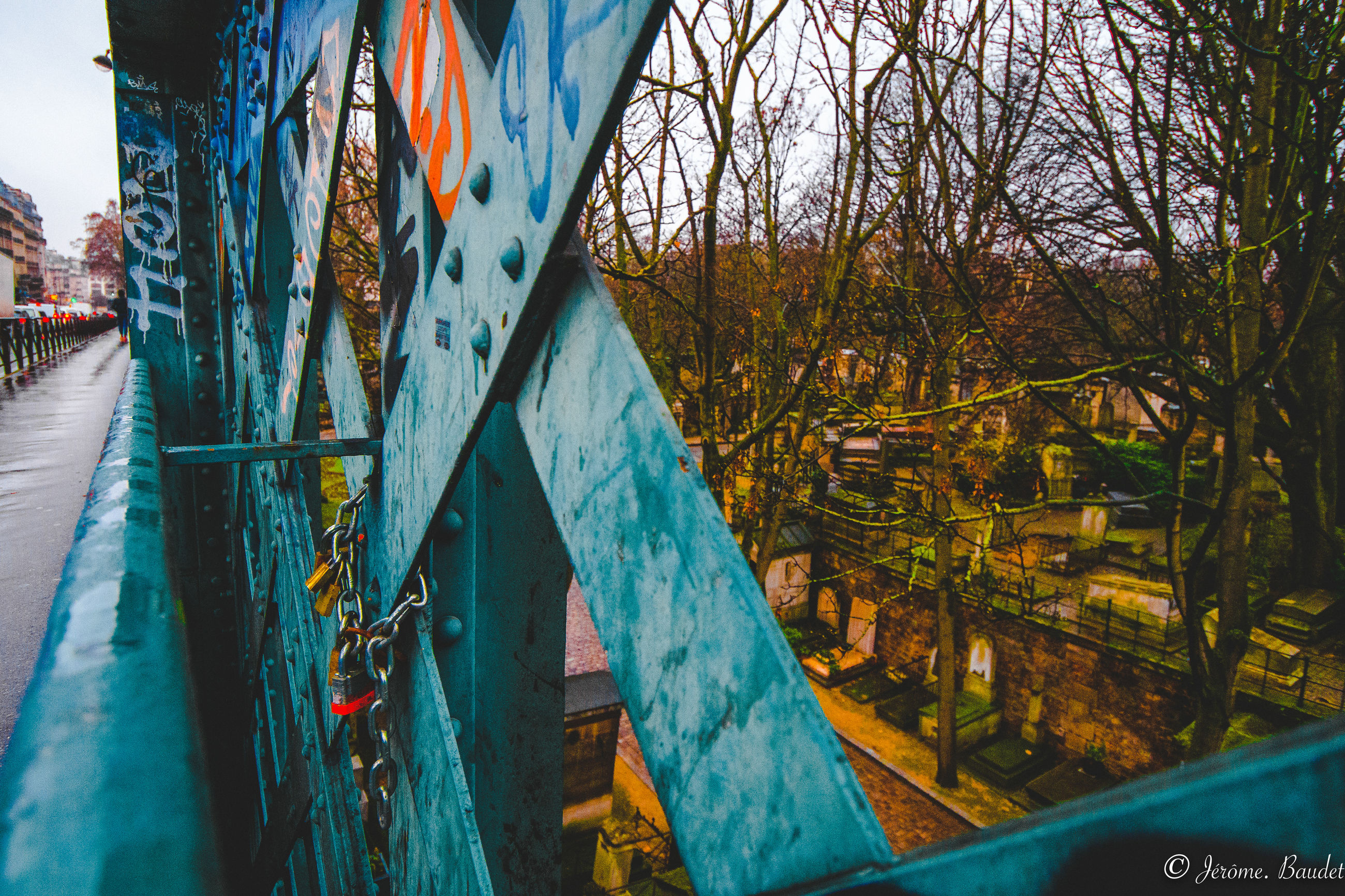 no people, built structure, architecture, day, tree, nature, transportation, building exterior, bridge, plant, metal, mode of transportation, outdoors, water, bridge - man made structure, connection, blue, abandoned, obsolete, deterioration