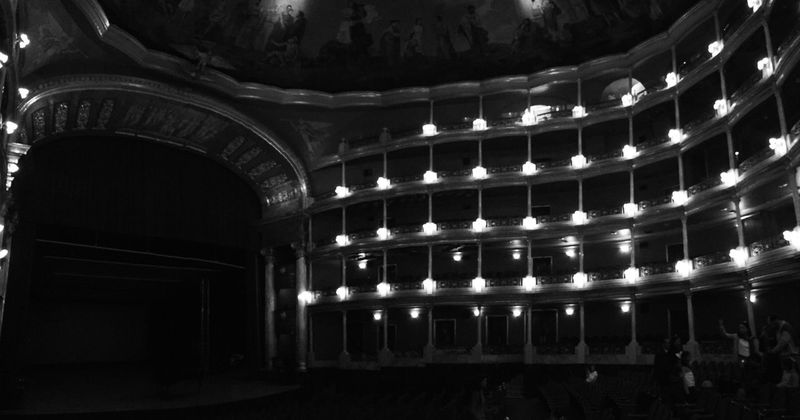Teatro Teatro Degollado GDL MEXICO Balck And White Blackandwhite