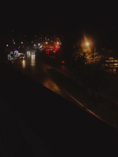 Illuminated Night City Street Transportation Lighting Equipment Street Light