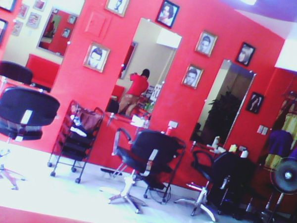 Here at our salon :D Olongapo City Shades Of Red