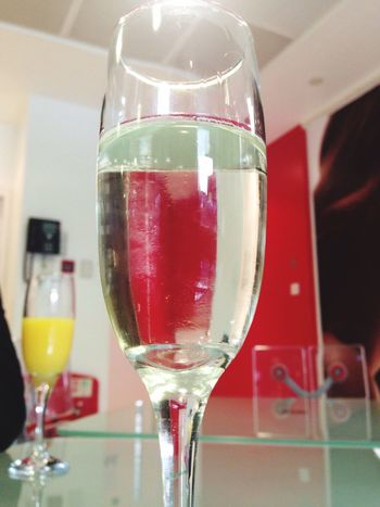 Dayout Prosecco Wella Studio Manchester Drinks Booze Glass Liquid Lunch