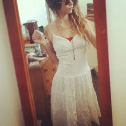 New dress :) Newdress Lovinit Hipstergirl Ombrehair