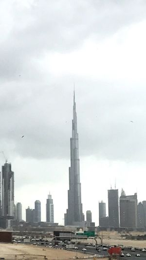 World tallest building during rain. First Eyeem Photo