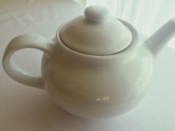 Teapot White Background White Tea Time Tea Color Palette