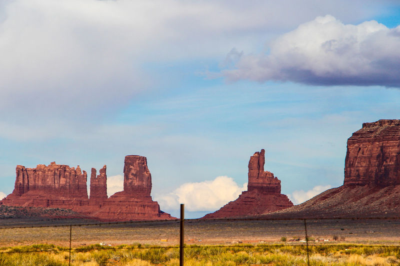 Cloud - Sky Sky Nature Rock Rock Formation Beauty In Nature Environment Landscape No People Rock - Object Day Scenics - Nature Travel Destinations Land Physical Geography Tranquility Solid Tranquil Scene Geology Non-urban Scene Outdoors Eroded Arid Climate Arizona Sunsets Arizona