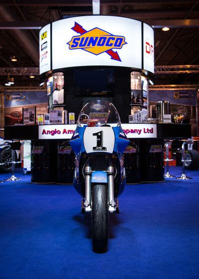 Sunoco Autosport Display Land Vehicle Mode Of Transport Motorbike Motorcycle Shadow Sign Stationary Sunoco Transportation
