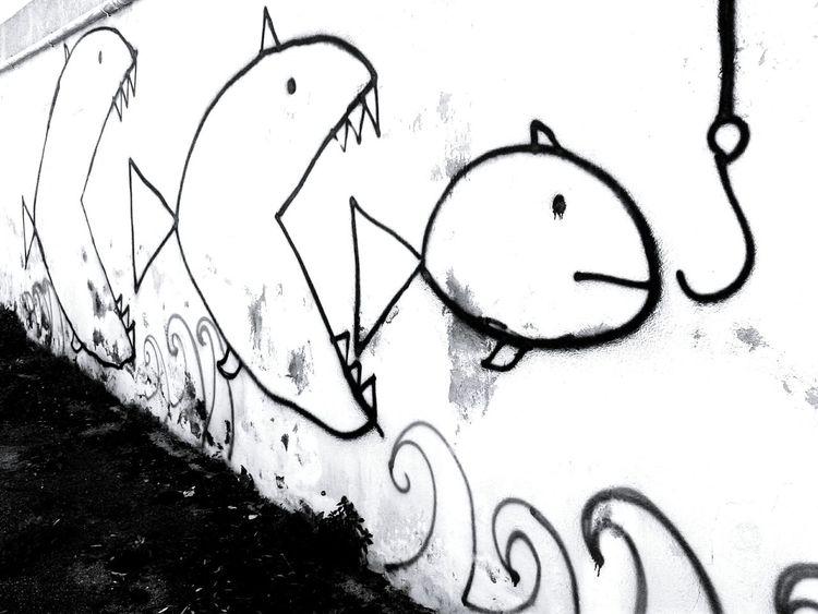 Me Myopera Socialspace Streetart Fishwar Inmytown Naples Italy