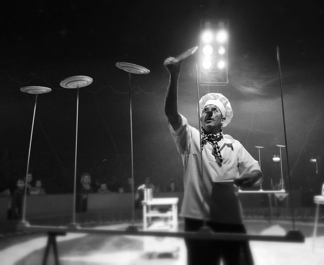 Blackandwhite Circus Shootermag Clown
