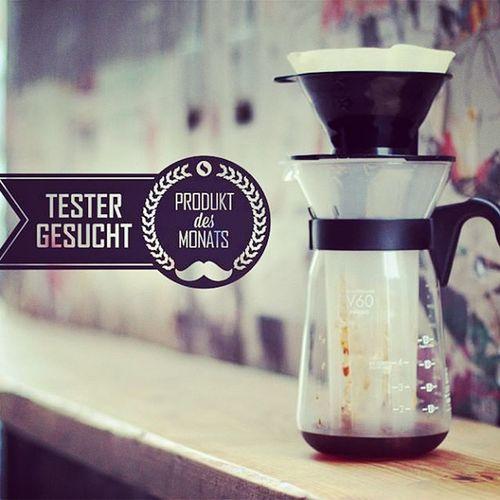 Wir suchen wieder Produkttester für den Hario v60 Fretta Eiskaffeezubereiter
