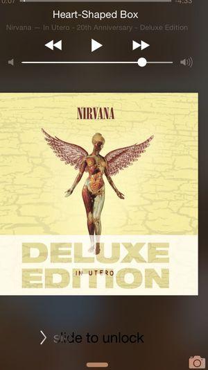 Earlier today.. Nirvana