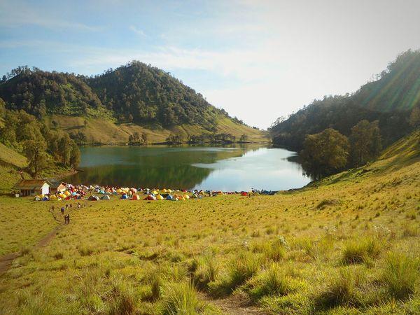Ranu kumbolo mt semeru lumajang east java indonesia