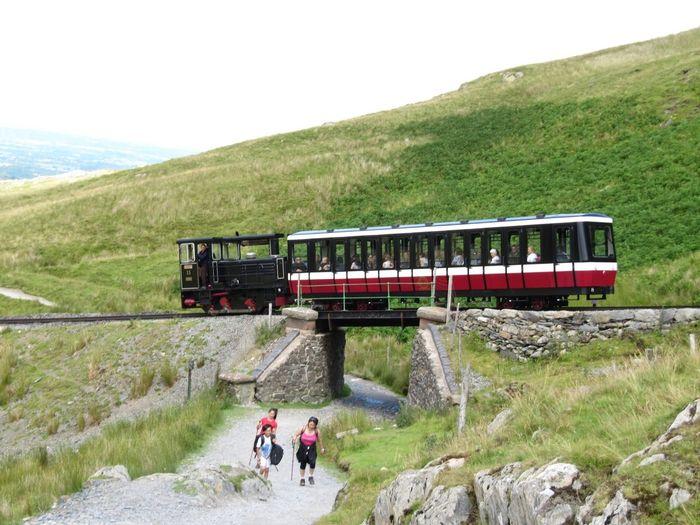 Transportation Mode Of Transportation Group Of People Rail Transportation Train Nature Train - Vehicle