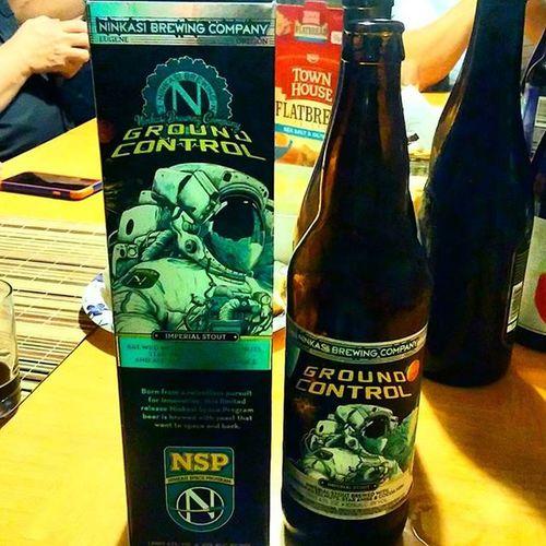Ground Control by Ninkasi Brewing Company Ninkasi Ninkasibrewing GroundControl Nsp Craftbeer Beersofinstagram Instabeer Beerporn Beer