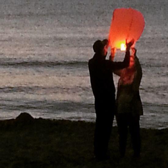 Learn & Shoot: After Dark Love Couple Romantic Beautiful Sea Night Lampions Light Holiday Eye4photography  Hello World ✌