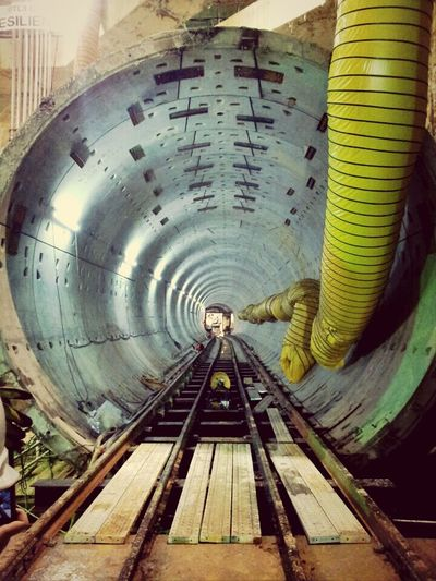 I think I have a pretty cool job. Civil Engineer Engineering Tunnel