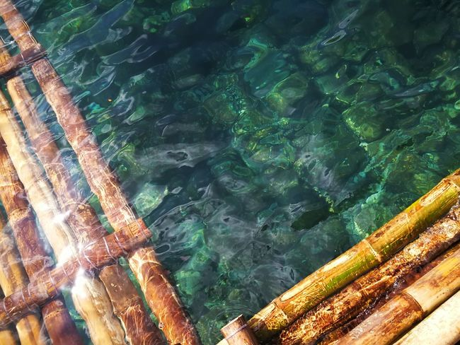 hello summer.... 🌞 Smartphone Photography Mobile Photography Eyeem Philippines Taking Photos Green Sea Clear Water Floating On Water Raft Bamboo Raft Clean Sea Seawater Refreshing View No People Outdoors Bamboo Huaweimate9 Shotwithhuaweimate9 Huawei Mate 9 Leica Huawei DualCamera Huawei Photography Kokopaps Nature Reflections