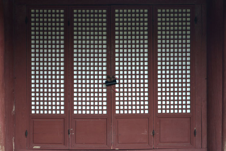 landscape of Seongeup Folk Village in Jeju Island, South Korea JEJU ISLAND  Seongeup Folk Village Architecture Close-up Day Door Indoors  No People Pattern Protection Safety
