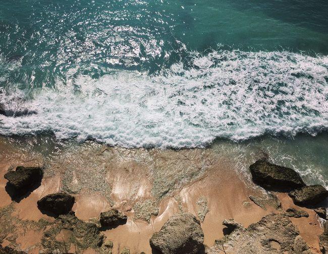 Waves Water Sea