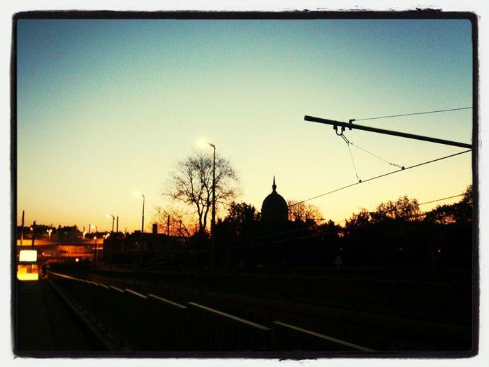 Das wird heute sicher ein wunderschöner Sonnenaufgang.