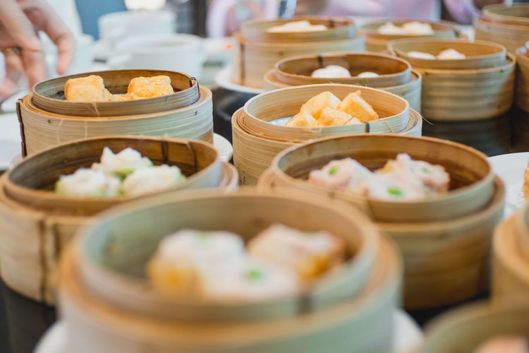 DimSum!!! Abundance Arrangement Bowl Chinese Food Choice Collection Dessert Dish Dumpling  Food Food And Drink Freshness In A Row Indoors  Indulgence Japanese Food Large Group Of Objects Meal Order Ready-to-eat Retail  Selective Focus Tasty Variation