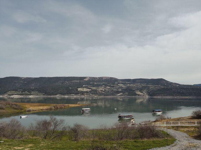 Lake Water Sky Aydın Fishing Landscape First Eyeem Photo