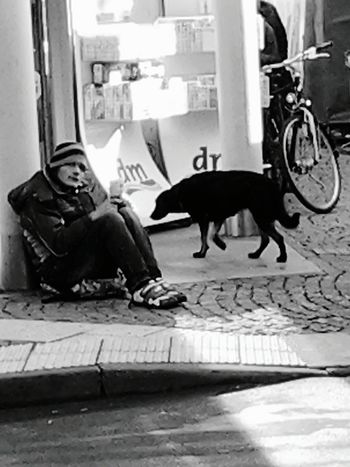 The Human Condition Homelessness  Streetphotography Black And White Street Begger Immigrant Hunger Human Interest HUMANITY Life Up Close With Street Photography