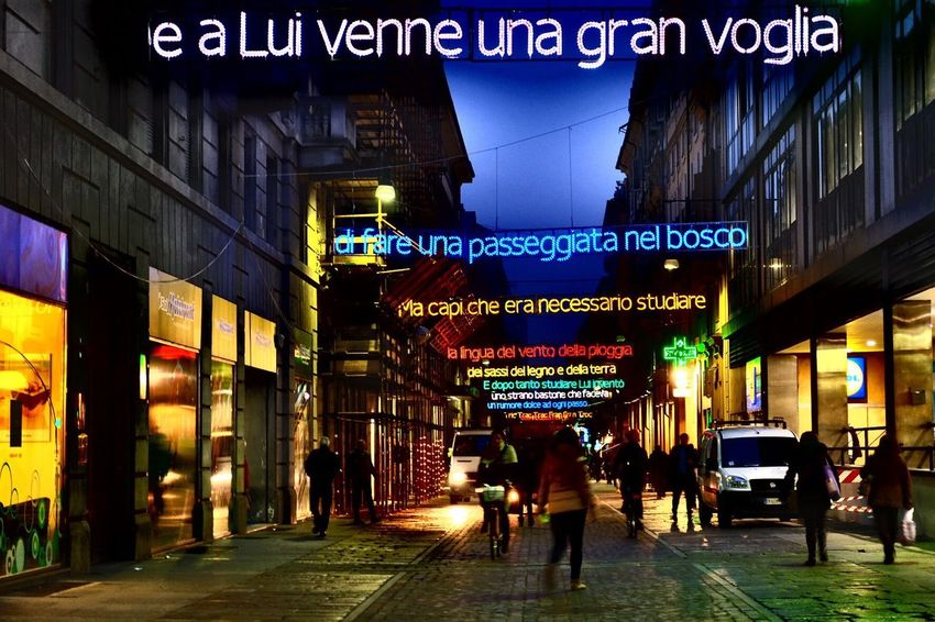 Torino Nightphotography Night Lights