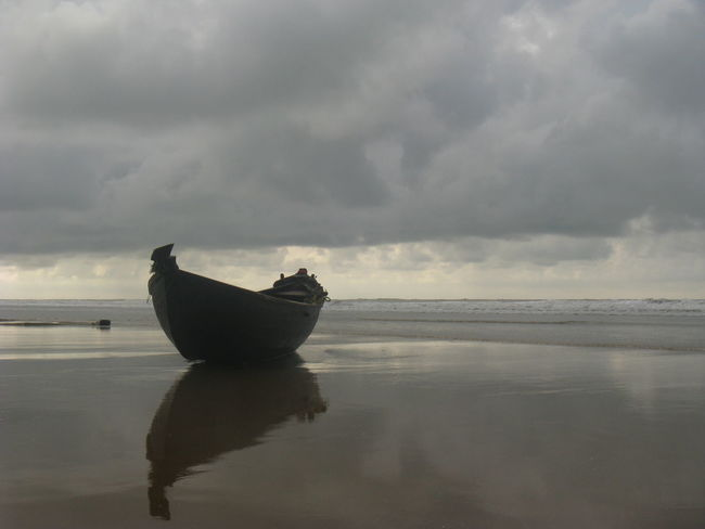 Water Sea Beach Outdoors Reflection Horizon Over Water No People Increadibleindia Digha