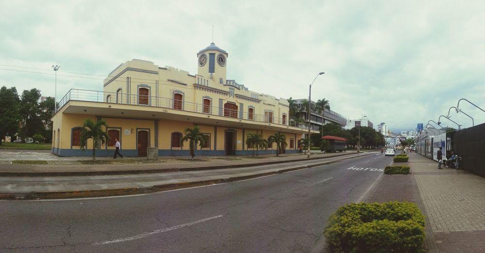 Old Train Station Pereira Arquitecture Oldbuilding