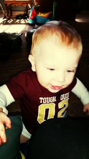 My little guy (: