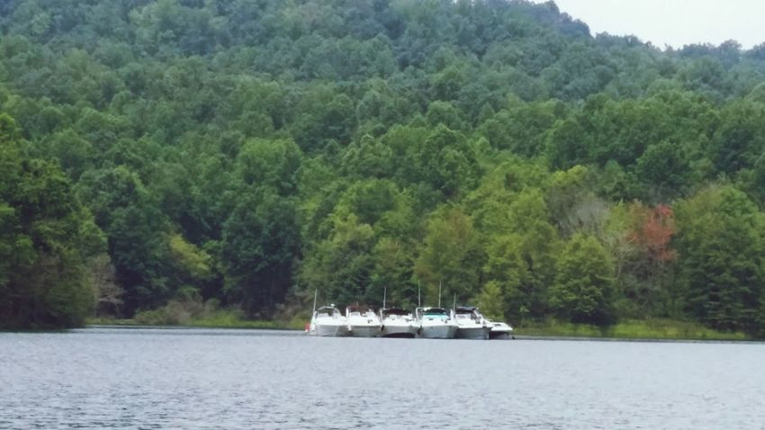 Beauty In Nature Mountain Water Outdoors Nautical Vessel Summersville Lake Summertime