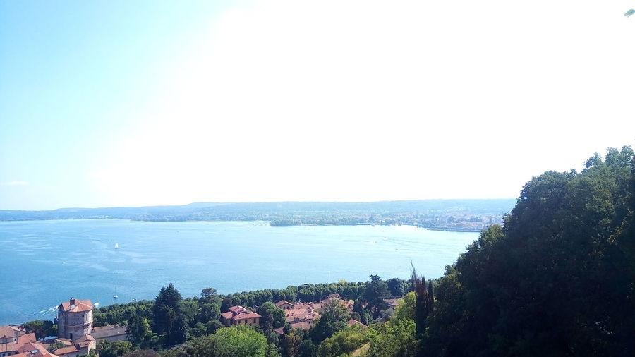 View... Lake Lake View Lakeshore Water Tree Blue Sky Horizon Over Water Tranquil Scene Shore Tranquility Scenics Calm