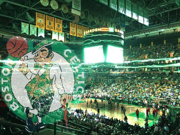 The Quest for 18 Basketball Arena Boston Celtics CelticsNation