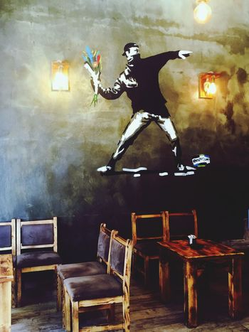 Kafe Cafe Kadıköy Rebel Grafiti Wall Graffiti Graffiti Art MILITANT Seat