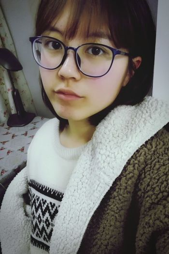 New Glasses(。・ω・。)ノ♡Is it cute??!!! That's Me Taking Photos