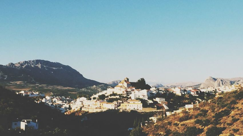 Colmenar Malaga Sky Mountain Clear Sky Town Outdoors Nature