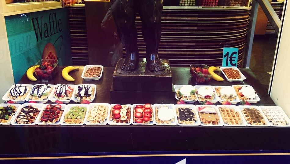 Belgium Waffle Delicious Sweets #food #love Waffles