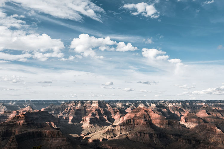 The wide wide West. 16mm Adventure Arizona Beauty In Nature Cloud - Sky Day Desert Dramatic Epic Exploring Fujifilm Grand Canyon National Park Hiking Landscape Photography No People Outdoors Roadtrip Scenics Sky South Rim Travel Photography Traveling USA Wide Angle Lens Xt10