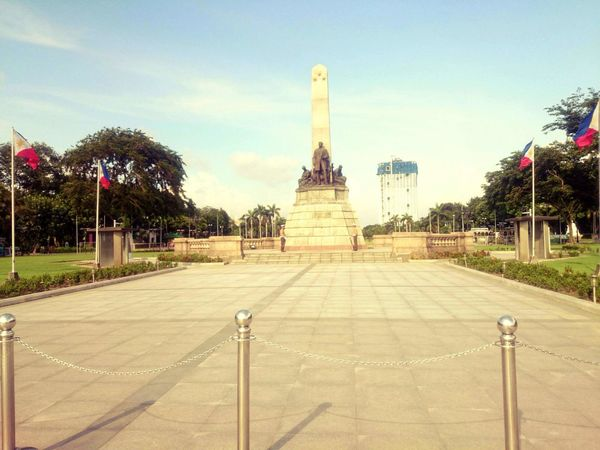 Rizal Park also known as Luneta Park in Metro Manila Philippines National Hero Of Philippines Heritage Site Park Its More Fun In The PHILIPPINES! Travel Phone Photography