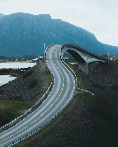 Bridge Against Mountain