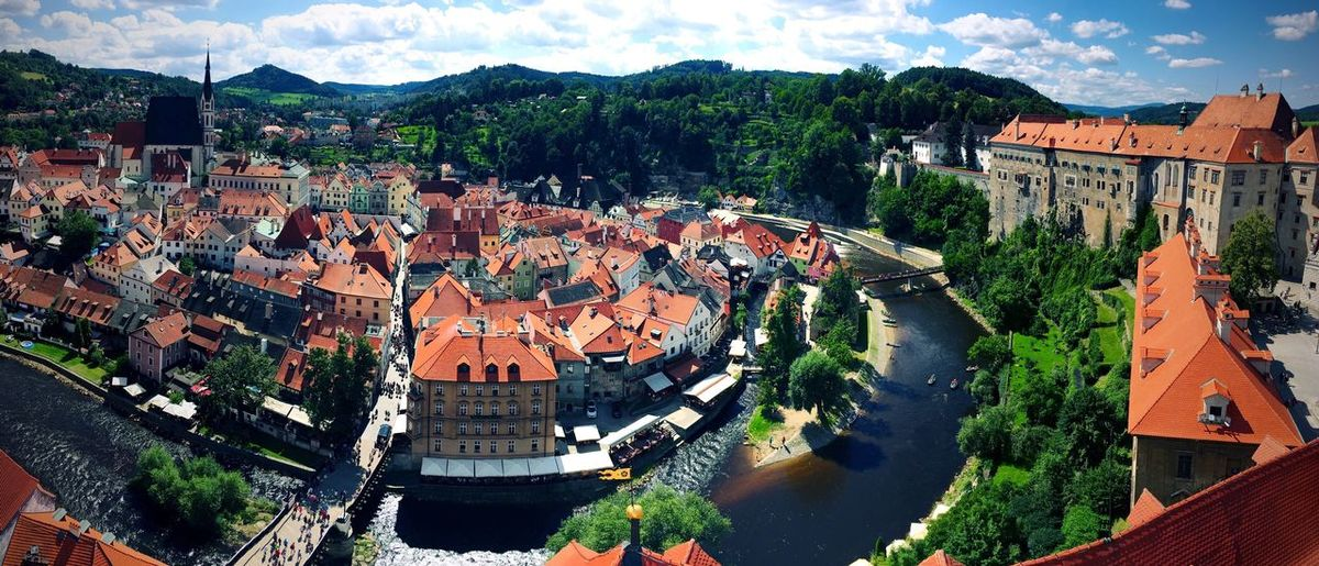 Chesky Krumlow Chesky Krumlov UNESCO World Heritage Site Unesco Unescoworldheritage Czech Republic Village River Rooftop City Tourism Beautiful Backgrounds Background
