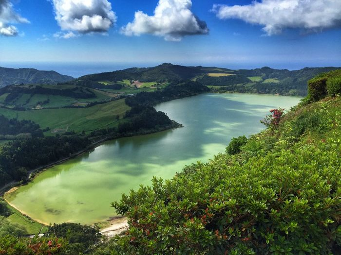 Azores Açores Portugal Lake Furnas Nature Landscape Beautiful Traveling Hiking