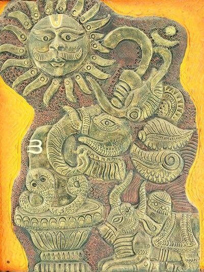 Indian Gods Surya Nandi Shiva Oom Gajanand This Is India! <3