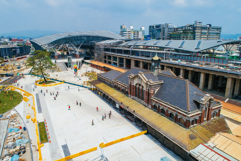 #空拍 Ice Rink City Cityscape Hockey Stadium Ice Hockey Crowd Architecture Sky