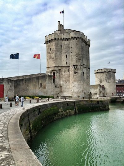 La Rochelle France Photos Port Pier Tower Tower Bridge  Perspective Harbour Tourism Tourist Vacation