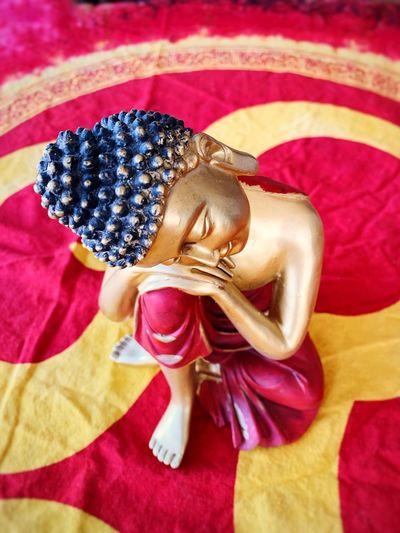 Buddha statue Enlightenment Kindness OM Awakening Serenity ArtWork Buddha Statue Buddha Image Close-up Textile No People Art And Craft Still Life