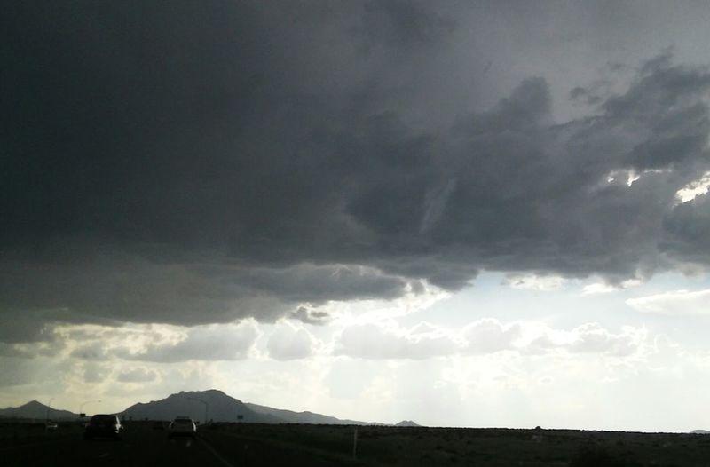 Arizona Thunder Storm, Sky, Rain Clouds .