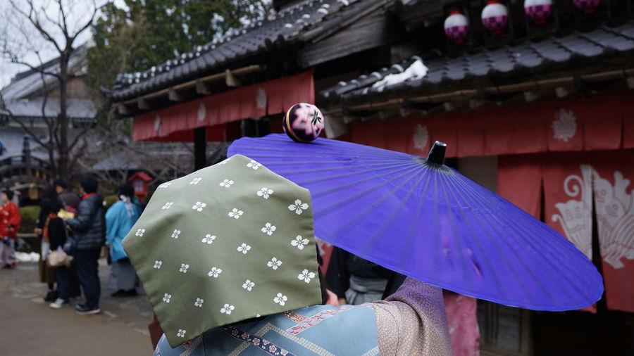 傘回し Kasa mawasi Spinnging umbrella Cultures Day Edowonderland Japan Photography Outdoors People Traditional Women 傘回し Carnival Crowds And Details