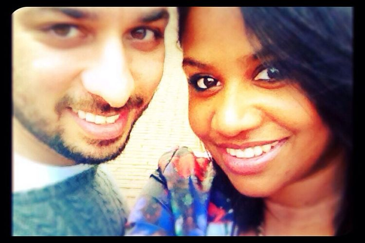 Smiles Sonu&Chelle Love Smile Couple
