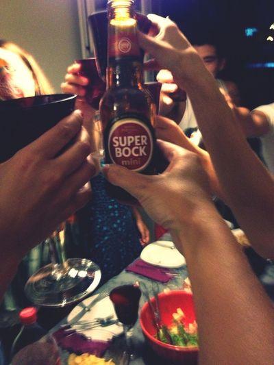 Super Bock Cheers!